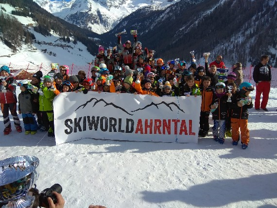 Skiworld Ahrntal Kinderpokal in Rein in Taufers